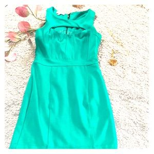 Green Bebe dress size XS # A 48